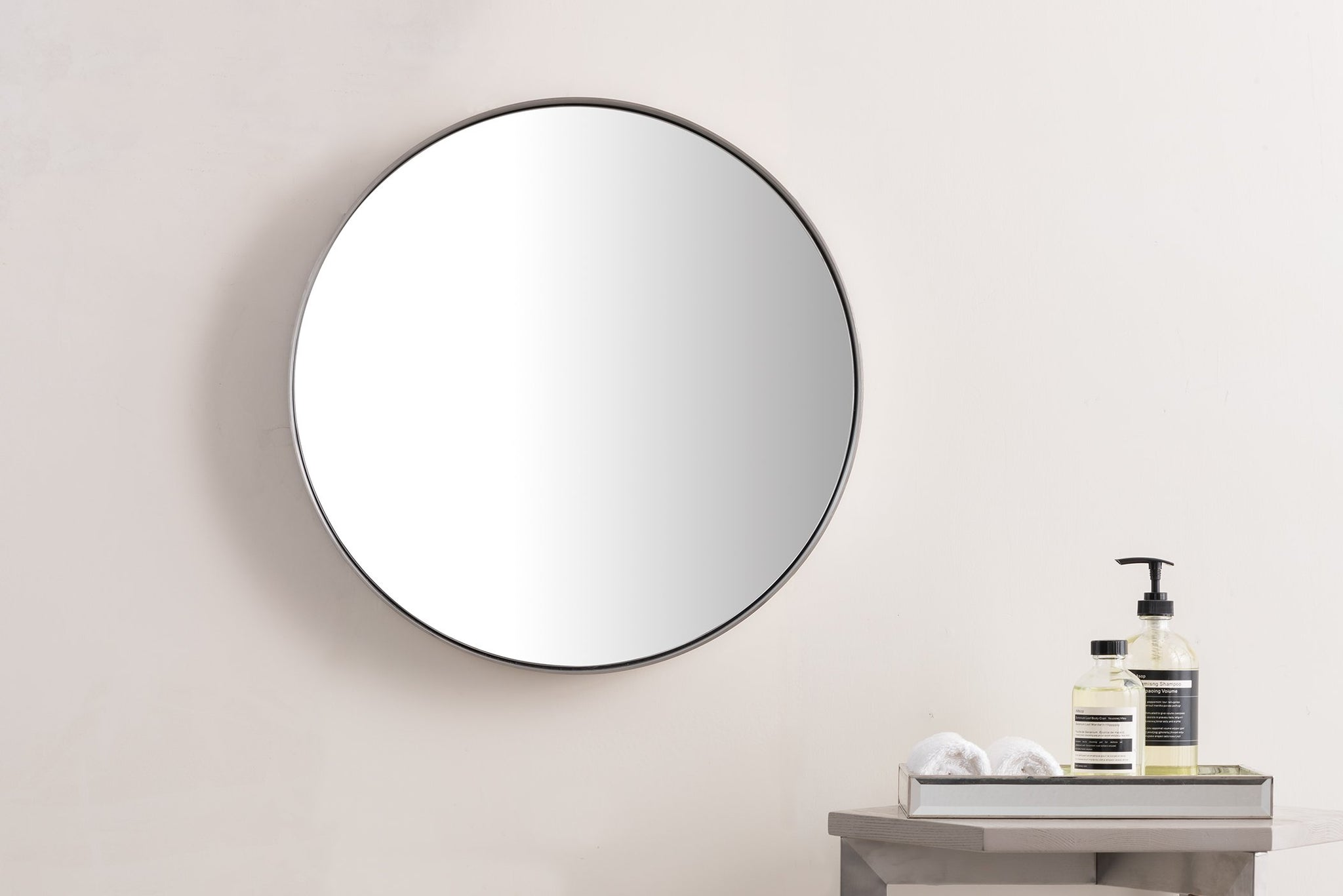 "Simplicity 20"" Mirror, Brushed Nickel Mirror James Martin Vanities"