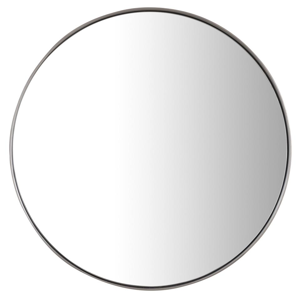 "Simplicity 20"" Mirror, Brushed Nickel"