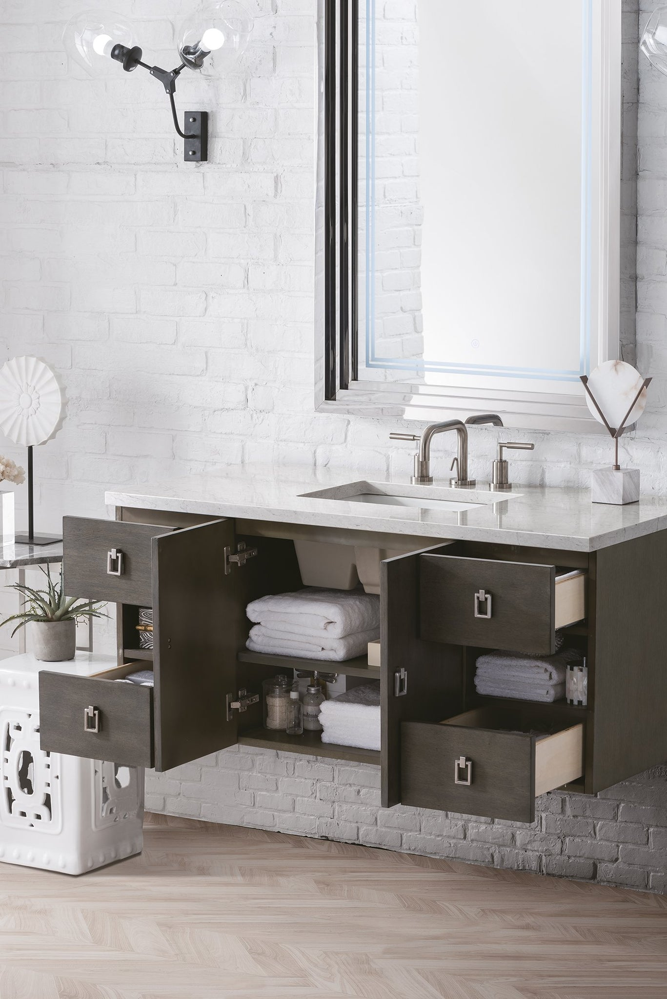 "Sonoma 48"" Single Bathroom Vanity Single Bathroom Vanity James Martin Vanities"