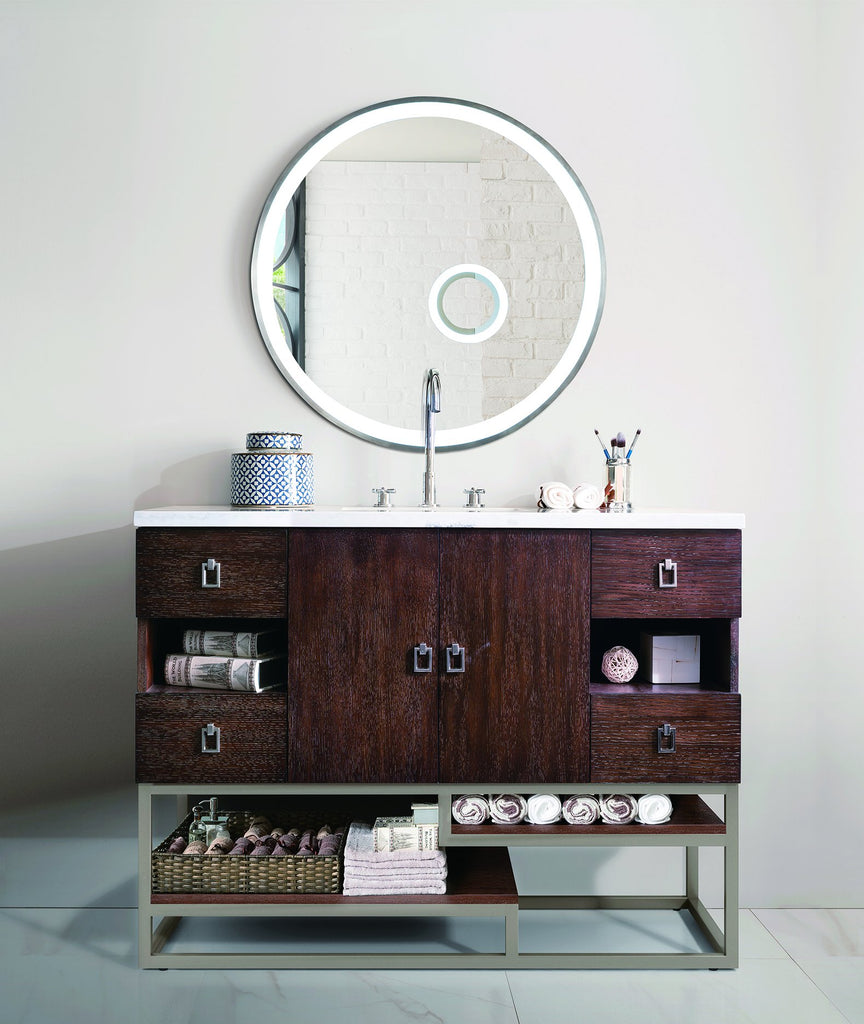 "Sonoran 48"" Single Bathroom Vanity, Coffee Oak"