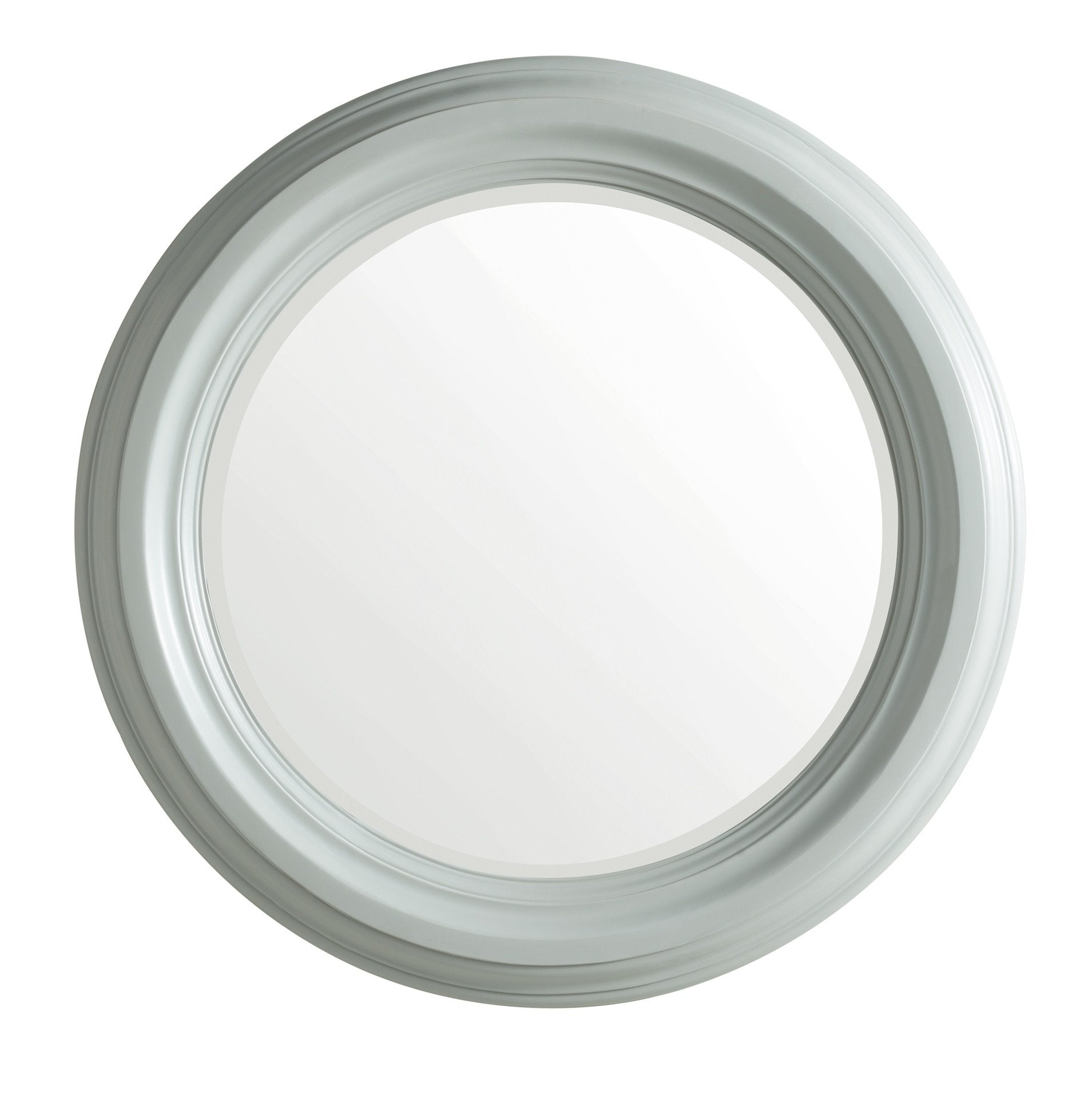 "Victoria 33"" Round Mirror, Urban Gray Mirror James Martin Vanities"