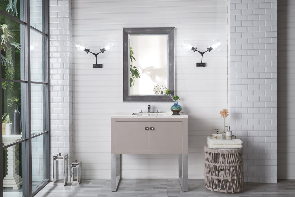 "Westlake 36"" Single Bathroom Vanity, Mountain Mist"
