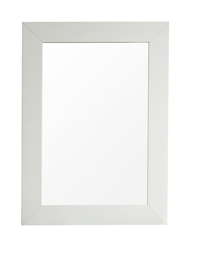 "Weston 29"" Rectangular Mirror, Cottage White"