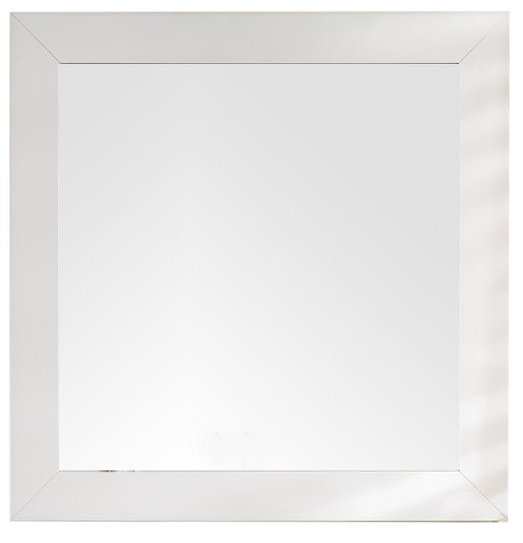 "Weston 40"" Rectangular Mirror, Bright White Mirror James Martin Vanities"