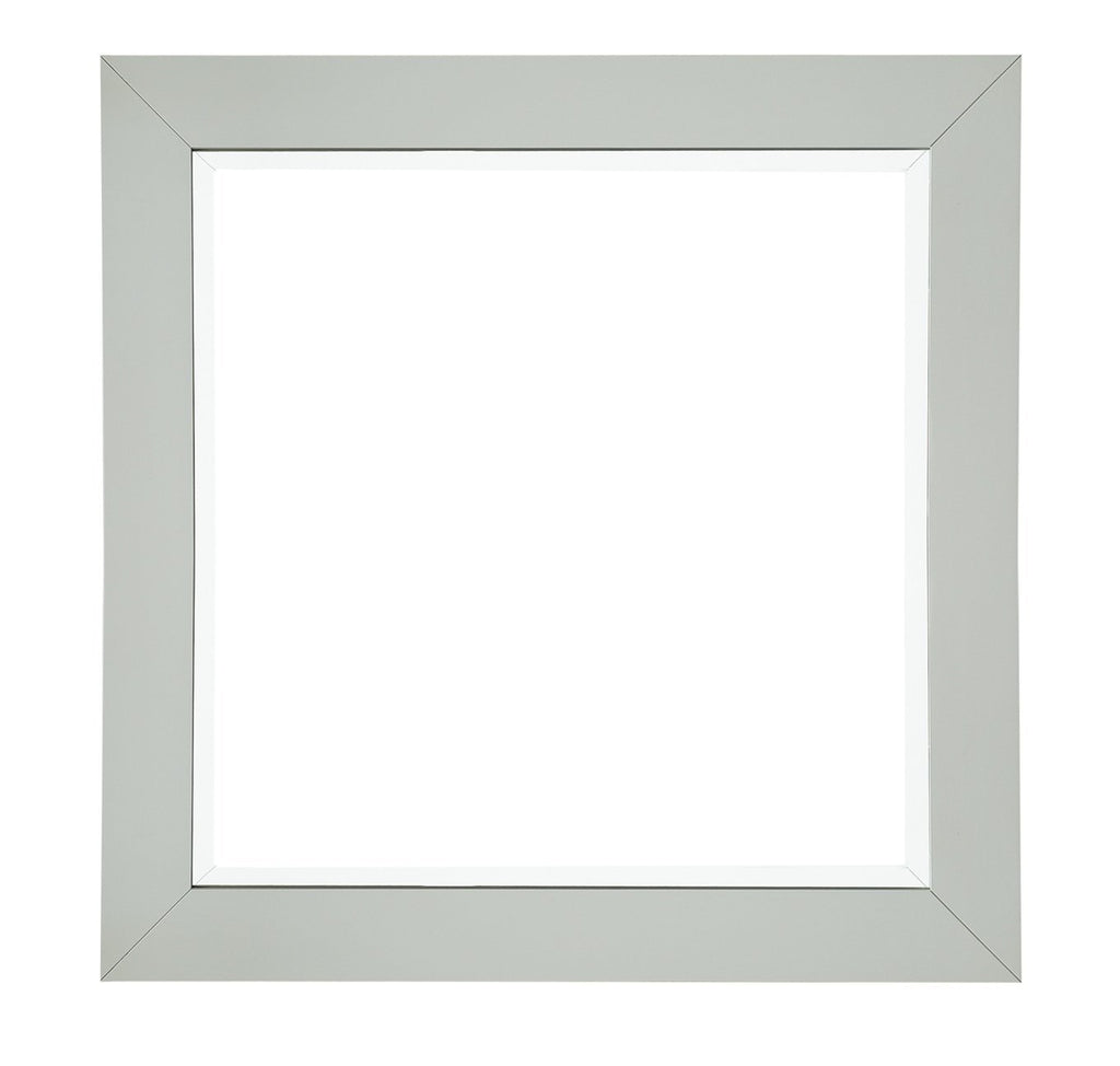 "Weston 40"" Rectangular Mirror, Cottage White"