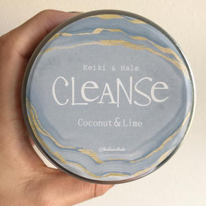 """Cleanse"" Coconut & Lime Candle"
