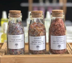 Marrakech Bath Salt Pink Salt + Exotic Oils 200g