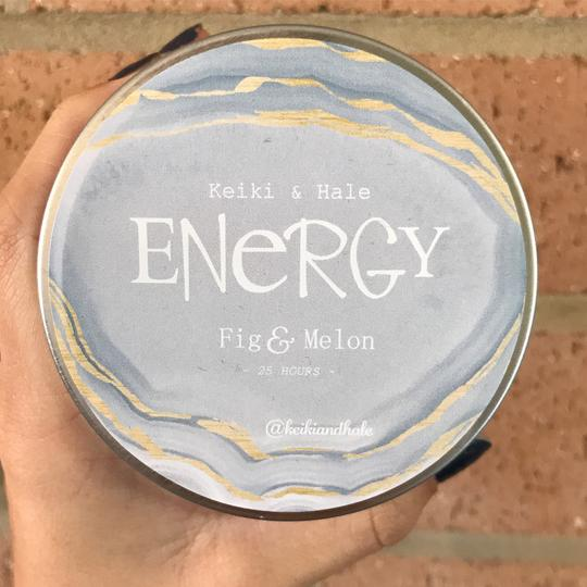 """Energy"" Fig & Melon Candle"