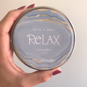 """Relax"" Lavender Candle"