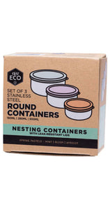 Round Nesting Container - Set of 3
