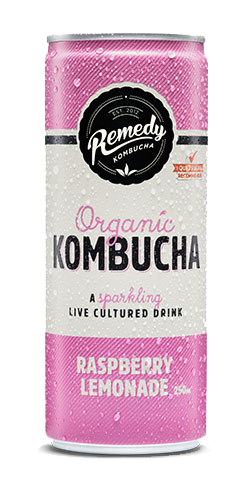 Raspberry Lemonade Kombucha