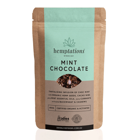 Activated Organic Hemptations Mint Choc