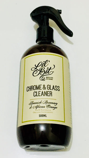 Spanish Rosemary & African Orange Chrome & Glass Cleaner 500ml
