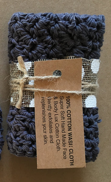 Luxe 100% Cotton Washcloth