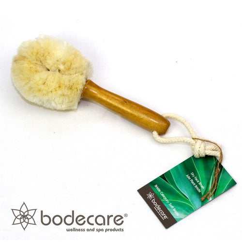 Jute Dry Face Brush