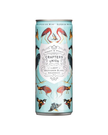 Crafters Union Sauvignon Blanc Cans 250mL