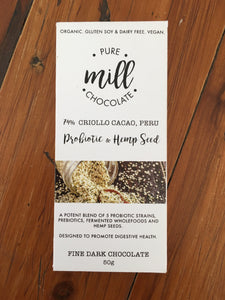 Pure Mill Chocolate Bars 50g