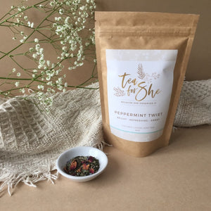 Organic Loose Leaf Tea 'Peppermint Twist'