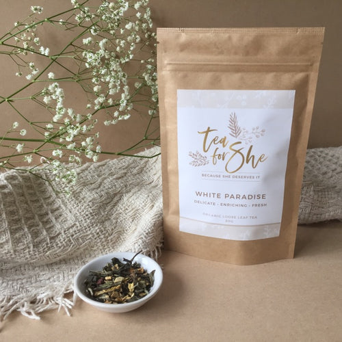 Organic Loose Leaf Tea 'White Paradise'