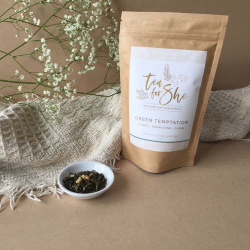 Organic Loose Leaf Tea 'Green Temptation'