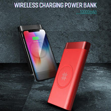 Load image into Gallery viewer, ROCK ® 10000mAh Wireless Charger Power Bank