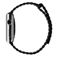 Load image into Gallery viewer, Black Leather Loop Strap 42mm for Apple Watch (ONLY STRAP NOT WATCH)