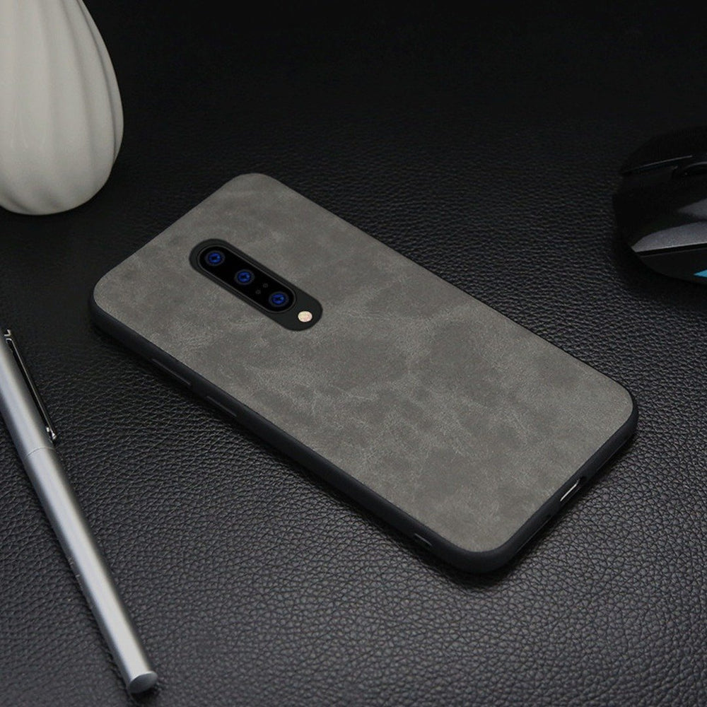 Load image into Gallery viewer, OnePlus 7T Pro Premium Leather Texture Case
