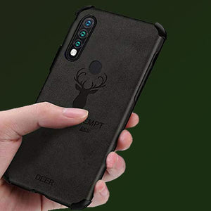Oppo A31 Shockproof Deer Leather Texture Case