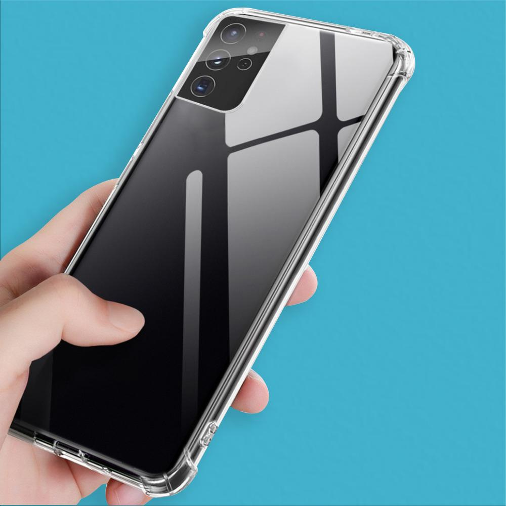 Load image into Gallery viewer, Galaxy S21 Ultra Anti-Knock TPU Transparent Case