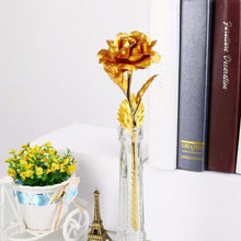 Load image into Gallery viewer, Gold Plated Rose - Best Valentine's Day Gift For Him and Her