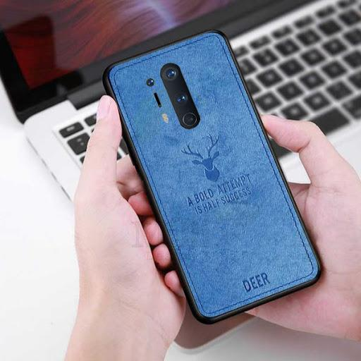 OnePlus 8 Pro Deer Pattern Inspirational Soft Case