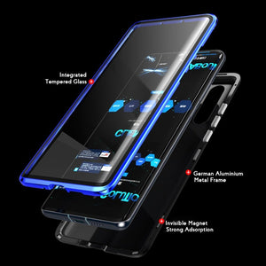 Samsung Galaxy S Series (Front+ Back) Glass Magnetic Case