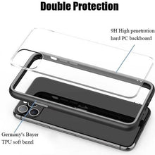 Load image into Gallery viewer, Shockproof Clear Soft Edge Case Cover iPhone 11 Pro