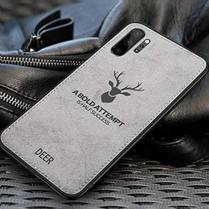 Galaxy Note 10 Deer Pattern Inspirational Soft Case