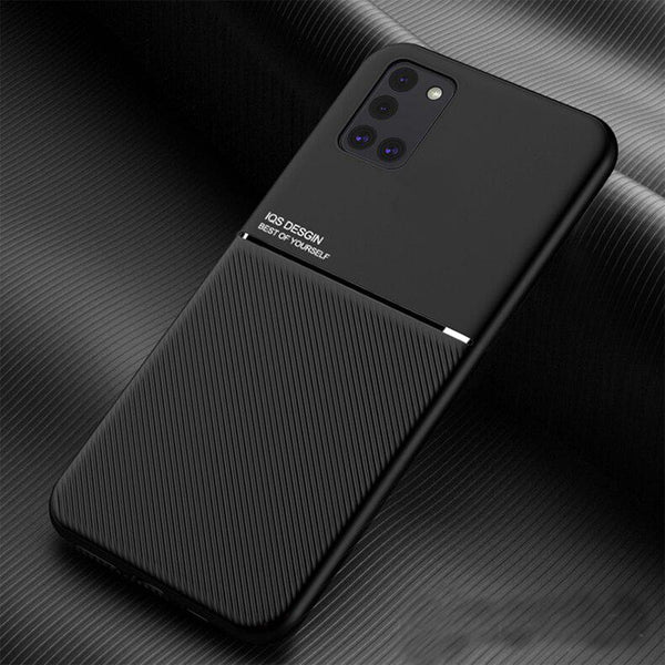 Galaxy A31 Carbon Fiber Twill Pattern Soft TPU Case