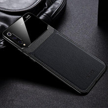 Load image into Gallery viewer, Galaxy A50 Sleek Slim Leather Glass Case