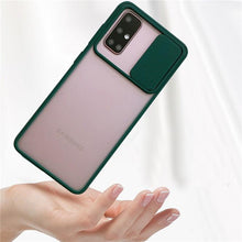 Load image into Gallery viewer, Galaxy M31s Camera Lens Slide Protection Matte Case