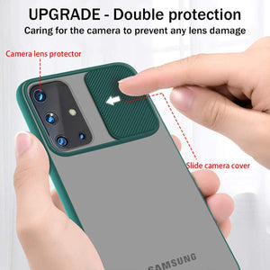 Galaxy M31s Camera Lens Slide Protection Matte Case