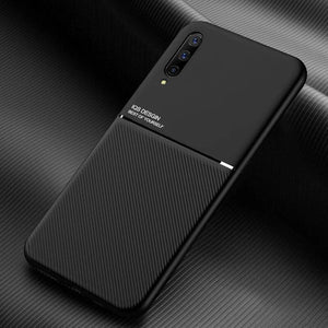 Load image into Gallery viewer, Galaxy A Series Carbon Fiber Twill Pattern Soft TPU Case