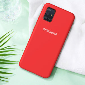 Load image into Gallery viewer, Galaxy M51 Liquid Silicone Logo Case