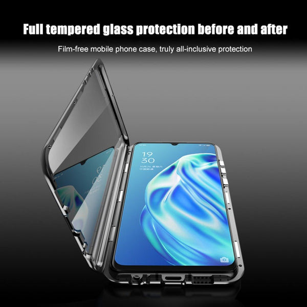 Galaxy Note 10 Lite (Front+Back) Protection Magnetic Fit Case