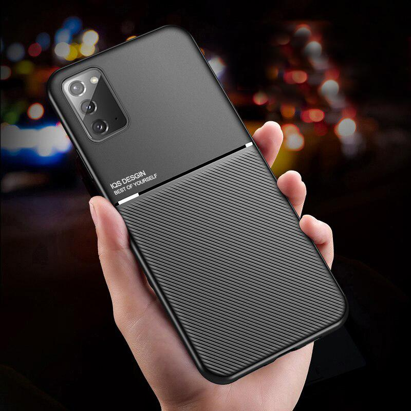Galaxy Note 20 Carbon Fiber Twill Pattern Soft TPU Case