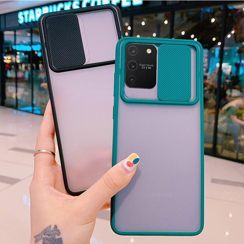 Galaxy S10 Lite Camera Lens Slide Protection Matte Case