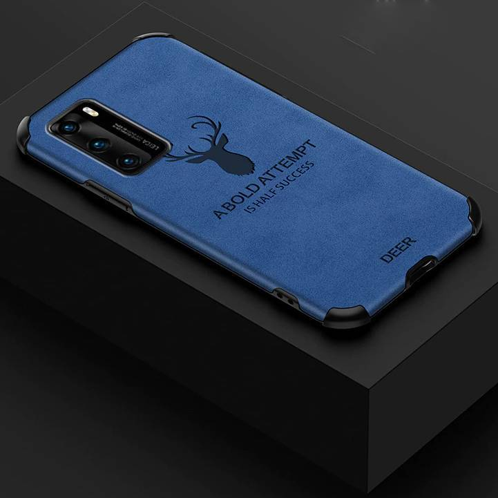 Galaxy S10 Lite Shockproof Deer Leather Texture Case