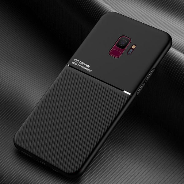 Galaxy S9 Carbon Fiber Twill Pattern Soft TPU Case