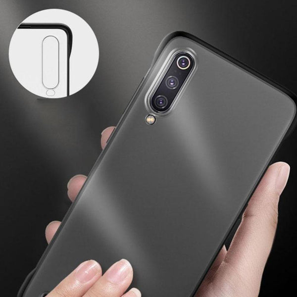 Galaxy A50 Luxury Frameless Transparent Case