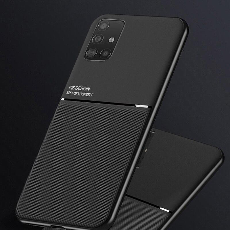 Galaxy M51 Carbon Fiber Twill Pattern Soft TPU Case