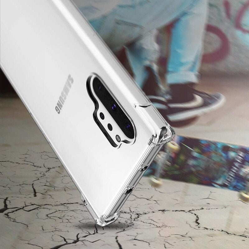 King Kong ® Galaxy Note 10 Plus Anti-Knock TPU Transparent Case