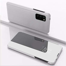 Load image into Gallery viewer, Galaxy S20 Mirror Clear View Flip Case [Non Sensor Working]