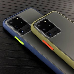 Galaxy S20 Ultra Luxury Shockproof Matte Finish Case